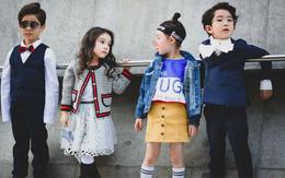 Cứ đến Seoul Fashion Week, dân tình chỉ ngóng trông street style vừa chất vừa yêu của những fashionista nhí này