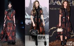 """Đẳng cấp visual của Jisoo (Black Pink): lấn át Hyeri khi """"đụng hàng"""", thậm chí còn mặc đẹp hơn người mẫu của hãng"""