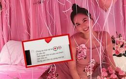 Lộ tin nhắn của người yêu gửi Ngọc Trinh: Xưng hô vợ chồng, cung phụng như bà hoàng