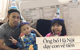 Ông bố Hà Nội trả tiền lương cho con làm việc nhà, bắt con phải bỏ tiền thuê ipad mới được xem