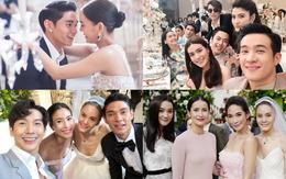 Siêu đám cưới mỹ nhân thị phi nhất Thái Lan và chồng kém 10 tuổi: Hoành tráng nhất là dàn siêu sao đến dự