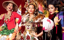 Chiêm ngưỡng 6 bộ quốc phục độc đáo khiến H'Hen Niê phân vân chọn lựa để mang đi chinh chiến Miss Universe 2018