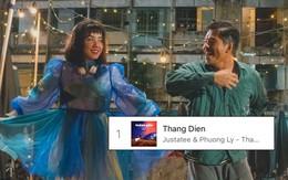 """Sau khi khuấy đảo Youtube, """"Thằng điên"""" của JustaTee còn leo thẳng lên vị trí #1 Itunes Việt Nam"""
