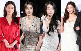"""Thảm đỏ Oscar Hàn Quốc 2018: """"Nàng cháo"""" và loạt mỹ nhân thi nhau o ép vòng 1, Seolhyun sang như bà hoàng"""
