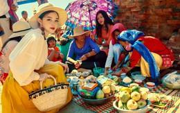 """Loạt ảnh Ninh Thuận rực rỡ trong lễ hội khiến dân tình xuýt xoa, nhưng nhan sắc nữ chính mới là điều """"hút like"""" nhất"""