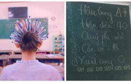 Khi bạn muốn tiến cung mà bố mẹ bắt đi học: Cài 20 chiếc bút bi lên đầu ngay chứ sao nữa!