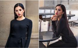 """Hoa hậu Tiểu Vy gây """"dậy sóng"""" MXH với thần thái đầy sắc sảo và thu hút trong bộ ảnh chụp tại Pháp"""