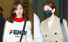 Yoona và Suzy tình cờ đụng độ tại sân bay: Người gây choáng vì mặt mộc quá đẹp, kẻ gầy vẫn đẹp như mơ
