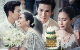 Ảnh cưới đẹp như phim của cặp quyền lực Tbiz Push Puttichai và Jooy: Xúc động nhất là giọt nước mắt sau bao khó khăn