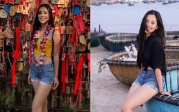 Tự tin khoe dáng như HH Tiểu Vy: diện luôn combo yêu thích từ thời nữ sinh đi thi Miss World 2018 mới chất