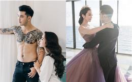 Ưng Hoàng Phúc bán nude, khoe body 6 múi trong bộ ảnh cưới trước ngày trọng đại với bà xã Kim Cương