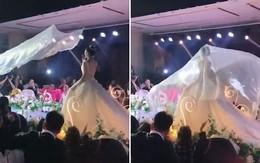 """Video: Đám cưới biến thành đám tang chỉ vì một chiếc """"khăn voan bay"""""""