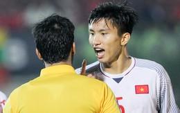 Cậu út tuyển Việt Nam bất mãn, chỉ thẳng mặt trọng tài chính trận Myanmar vs Việt Nam