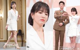 Song Hye Kyo đập tan tin đồn bầu bí nhờ body lột xác, đẹp đỉnh cao bên Park Bo Gum tại sự kiện hot nhất hôm nay