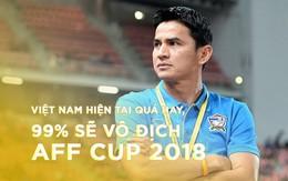 """Huyền thoại bóng đá Thái Lan Kiatisuk: """"Việt Nam hiện tại quá hay, 99% sẽ vô địch AFF Cup 2018"""""""