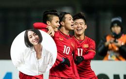 """Phim bị Đội tuyển Việt Nam """"chiếm sóng"""", Lee Min Jung vẫn lên mạng chúc đội tuyển trận cầu chiến thắng"""