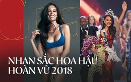 Nhan sắc lai đẹp rực rỡ của Tân Hoa hậu Hoàn vũ 2018 và loạt thành tích khủng trên hành trình đoạt vương miện thứ 3!