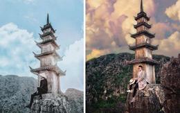 """Tọa độ check-in hot nhất ở Ninh Bình: Hùng vĩ và """"ảo diệu"""" không thua gì cảnh phim cổ trang"""