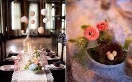 5 cách giúp bàn ăn đẹp lãng mạn và ấm cúng trong những ngày đầu năm