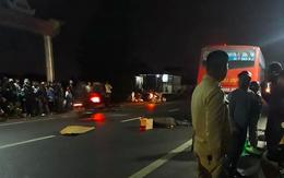 """Mùng 3 Tết, """"hôn"""" đuôi xe buýt, người đàn ông đi xe máy thiệt mạng thương tâm"""