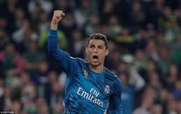 Ronaldo nổ súng giúp Real Madrid giành trọn 3 điểm sau màn rượt đuổi tỷ số điên rồ