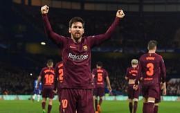 Messi phá dớp, Barca may mắn thoát thua Chelsea