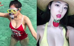 Những màn khoe ngực khủng đến nhức mắt làm dậy sóng mạng xã hội của các mỹ nhân Kpop