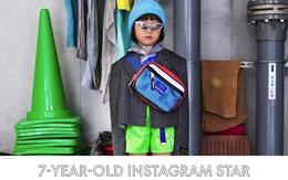 """Fashionista 7 tuổi người Nhật từng gây sốt nay còn tự mix đồ hiệu """"xịn sò"""" cho photoshoot chất ngất của mình trên Elle Mỹ"""