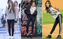 Chẳng cần ăn vận cầu kì, chỉ diện legging thôi mà 5 cô nàng này cũng khiến bao người phải trầm trồ ghen tị