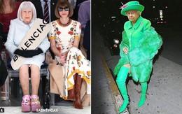 """Có ai ngờ một ngày nọ, Nữ hoàng Elizabeth II lại trở thành fashionista """"chất chơi"""" thế này đâu!"""