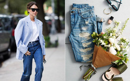 """Victoria Beckham giữ quần jeans lên phom đứng dáng bằng cách """"lười"""" giặt"""