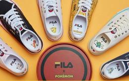 Một ngày đẹp trời, thanh xuân của 8x và 9x cùng trở lại với BST Sneaker Fila x Pokemon