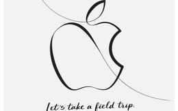 Apple đăng thiệp mời đầy ẩn ý về iPad mới, chơi cả thư pháp để vẽ logo quả táo