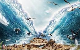 """Truyền thuyết """"mặt biển tách đôi"""" tưởng hư cấu mà hóa ra khoa học lại giải thích được"""