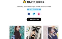 """Cách """"thả thính"""" online thời 2018: Lập website mời gọi crush, chỉ cần duyệt rồi yêu là xong"""
