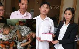 Gần 200 triệu đồng đến với gia đình cháu bé hơn 1 tuổi có mẹ bị ung thư vú, cha và 2 chị gái mù lòa tại Phú Thọ