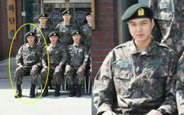 Bức ảnh đầu tiên của Lee Min Ho trong trang phục lính: Mặt mộc tròn trịa nhưng khí chất không thể đùa được
