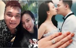Trước ngày cưới, Khắc Việt tặng bà xã xinh đẹp nhẫn kim cương lấp lánh