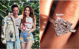 Khoe nhẫn khủng, Hồ Ngọc Hà chuẩn bị làm đám cưới với Kim Lý hay sắp chuyển sang ngạch buôn kim cương?