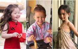 """Ngắm những """"công chúa lai"""" siêu đáng yêu của nhà sao Việt"""
