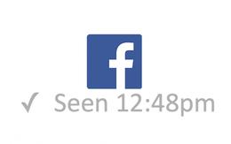 """Ai cũng tưởng lỗi Facebook chat nhưng hóa ra chữ """"Seen"""" bị lệch sang bên trái thật"""