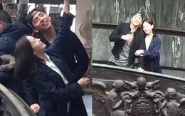 Mạnh miệng phủ nhận tin đồn tình cảm, cặp Hoa - Hàn mới lại lộ ảnh hẹn hò và lần này còn có cử chỉ tình tứ