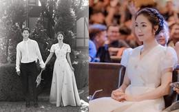 """Hòa Minzy rất xinh nhưng chiếc váy cô nàng mặc lại là phiên bản """"nhái"""" hơi lỗi của váy cưới Song Hye Kyo"""