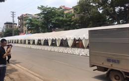 Bắc Giang: Rạp cưới khổng lồ dài bằng cả dãy phố, bên trong là 300 mâm cỗ ăn 2 ngày mới hết