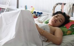 Mới sinh được hai tháng, mẹ trẻ 18 tuổi mất chồng, mất luôn chân vì bị container cán qua người