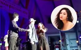 Clip: Bị fan nam cưỡng hôn trên sân khấu tại Nhật, và đây là cách xử lý đầy bình tĩnh của Văn Mai Hương