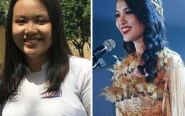 Tạm biệt 32kg mỡ thừa, cô bạn từng nặng 90kg đoạt ngay danh hiệu Hoa khôi ĐH Ngoại Thương 2018