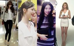 Thần tượng nữ xứ Hàn qua ảnh chụp điện thoại: Xinh đẹp không kém tạp chí, body hoàn hảo khó tin