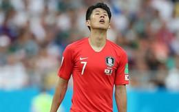 Sao Hàn Quốc để lại hình ảnh xúc động ở trận đấu với Mexico