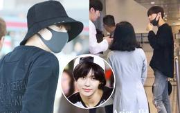 """Nam thần đình đám Taemin (SHINee) bất ngờ có mặt ở Đà Nẵng, bịt kín nhưng vẫn bị fan """"phục kích"""" tại sân bay"""
